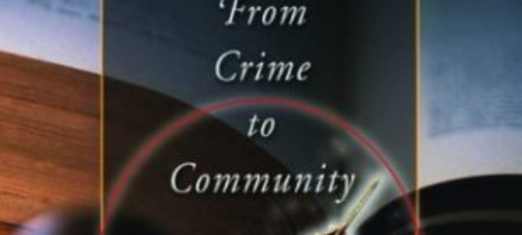 """Peacemaking Circles, From Crime to Community"""